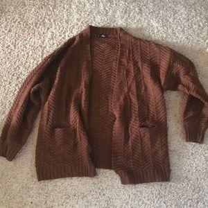 SHEIN chunky knit cardigan with pockets